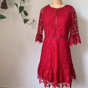 NWT BB Dakota In The Moment Dress In Scarlet Red